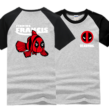 Buy 2017 brand clothing deadpool t shirt men hip hop funny t shirts cotton casual raglan sleeve tops streetwear tee shirt homme mma for $7.19 in AliExpress store