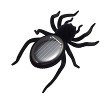 Solar Spider Tarantula Educational Robot Scary Insect Gadget Trick Toy     M09