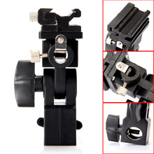 Swivel Flash lamp holder type B flash bracket Can be fixed reflective umbrella fixtures for flash soft box