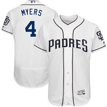 MLB Men's San Diego Padres Wil Myers Baseball White 2017 Flex Base Authentic Player Jersey(China)