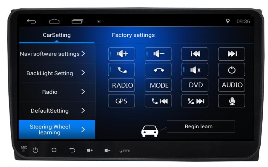 4-Core Android 6.0 9inch Car Dvd Gps Navi Audio for Volkswagen VW for skoda Passat Sagitar cc Transporter T5 Sharan Touran