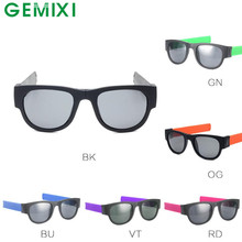 GEMIXI 2017 New FashionFold Up  Goggles Biker Sunglasses Eyewear Outdoor Glasses MAY23
