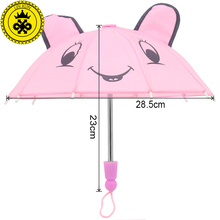 LIN KUN Pink Umbrella Fits 18 inch American Girl Doll DIY Boneca American Girl Doll Accessories YS001(China)