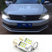 LED DRL Driving Daytime Running Day Fog Lamp Light For VW Sagitar Jetta MK6 2011-2013(China)