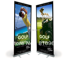200X85cm Roll up banners (free print your design) High quality Pull up banner, Outdoor banner(China)