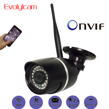 Evolylcam Wireless HD Sony imx 323 1080P 2MP IP Camera P2P Onvif Wifi Optional Audio Micro SD/TF card slot CCTV Camera System(China)