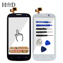 Top Quality Touch Screen Digitizer Glass Touchscreen For Alcatel One Touch Pop C5 Ot5036 5036 5036D Sensor Flex Cable Adhesive(China)