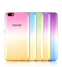 "Fashion Rainbow Candy Soft Cover Case For HUAWEI Honor 5A LYO-L21 5.0"" Y5 Y6 II 5X 5C 7 8 G7 G8 P8 P9 Lite Phone Protector Coque"