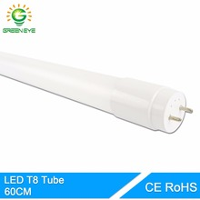 GreenEye High Bright LED Tube T8 Integrated 10w 60cm 2Feet 220V LED Fluorescent Light Tube LED Lamp Warm Cold White Bulb neon
