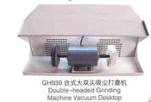 double head polishing machine jewelry table polisher  buffing motor dust collector
