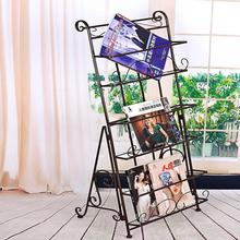 Magazine Racks Office Furniture home Commercial Furniture iron portable Bookcase magazine rack can customize new 336*40*101cm