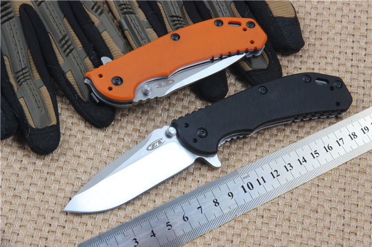 Tactical Folding Knife D2 Blade G10 Handle Outdoor Survival Camping Knife Pocket Knives EDC Tools high quality ZT0566<br><br>Aliexpress