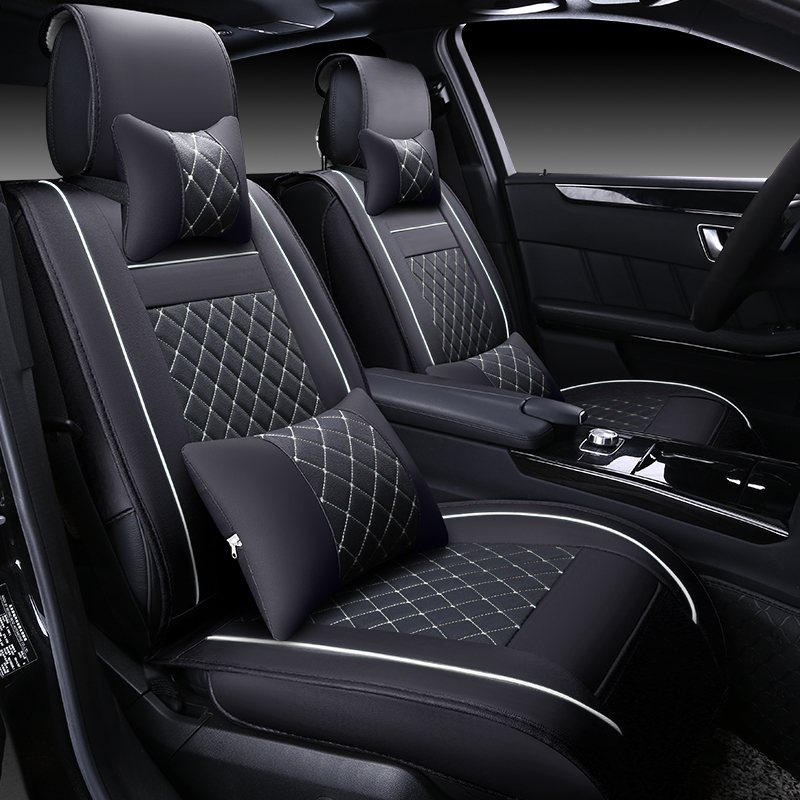 (Front + Rear) Special Leather car seat covers For Peugeot 307 206 308 407 207 406 408 301 3008 5008 car accessories car styling<br><br>Aliexpress
