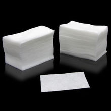 1Pack of 100pcs White Nail Art Wipes UV Gel Nail Polish Remover Cleaner Wipe Cotton Lint(China)