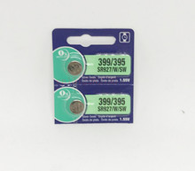 2Pcs/Lot RETAIL LONG LASTING 395 SR927SW 399 SR927W LR927 AG7 Watch Battery Button Coin Cell MADE IN JAPAN 100% Original Brand