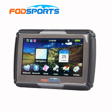 8GB 4.3 Inch Updated Version Moto Navigator Motorcycle Navigation Waterproof GPS Free Maps