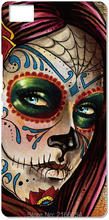 Sugar Skull Cell Phone Case For BQ Aquaris M5 E5 E6 M5.5 X5 Plus For Blackberry Z10 Z30 Q10 For Nokia Lumia 520 630 930 Cover