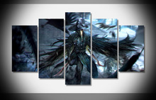 9012 bloodborne crow dagger warrior game hd game Poster Framed Gallery wrap art print home wall decor wall picture(China)