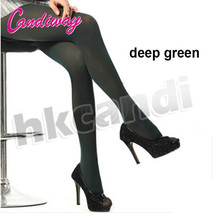 NightLife Fashion Women transparent Tights Pantyhose Green color Stockings Sexy Lady sex Silk(China)