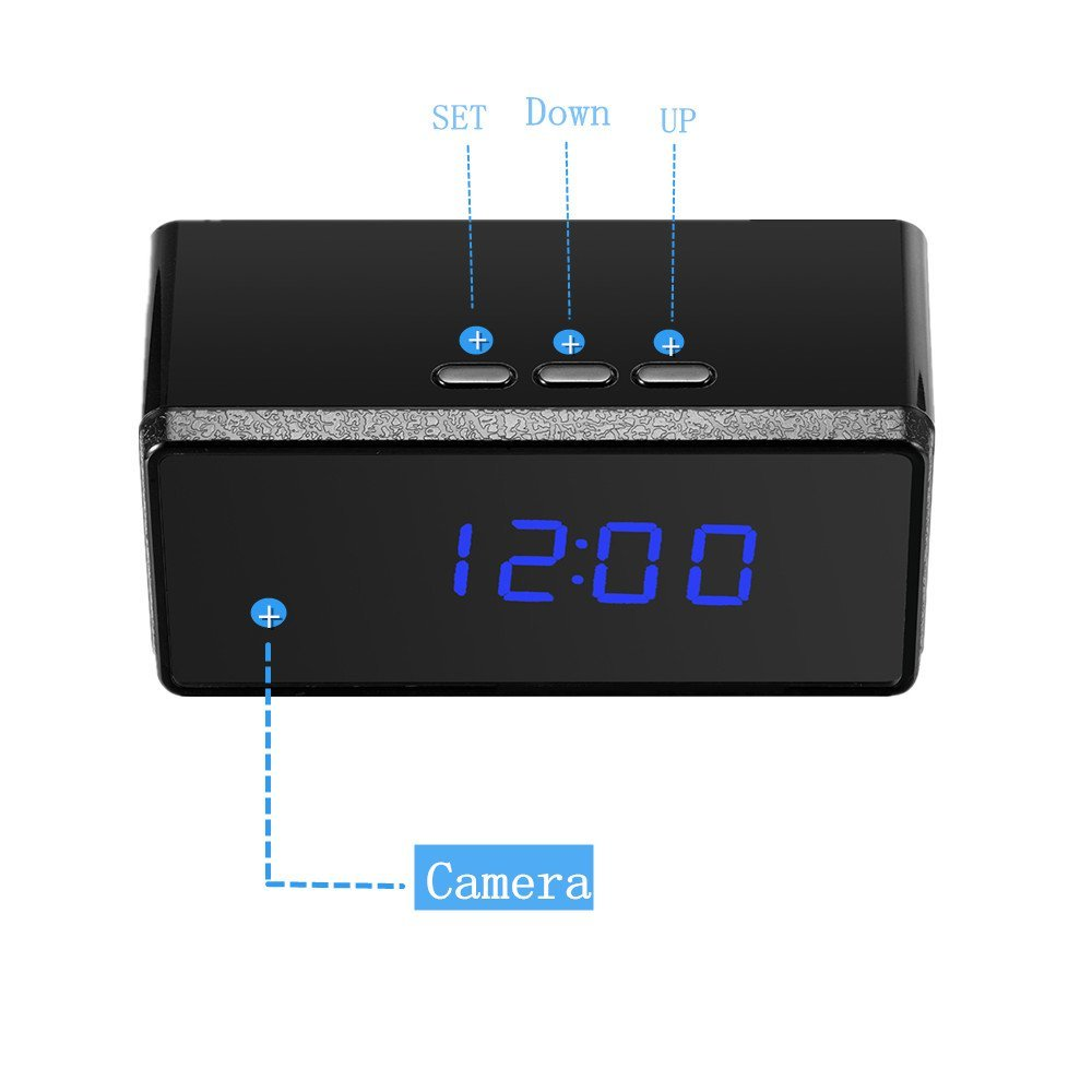 T7 clock camera mini camera 3