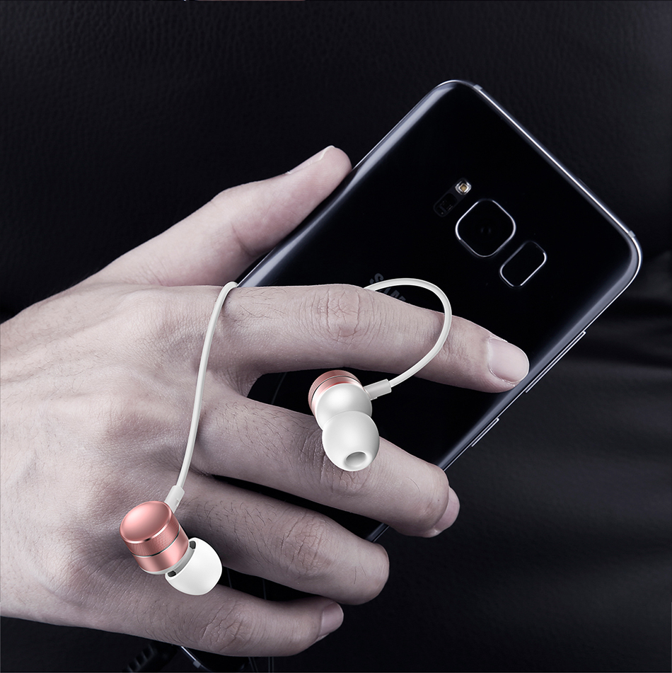 Baseus H04 Bass Sound Earphone In-Ear Sport Earphones with mic for xiaomi iPhone Samsung Headset fone de ouvido auriculares MP3 7