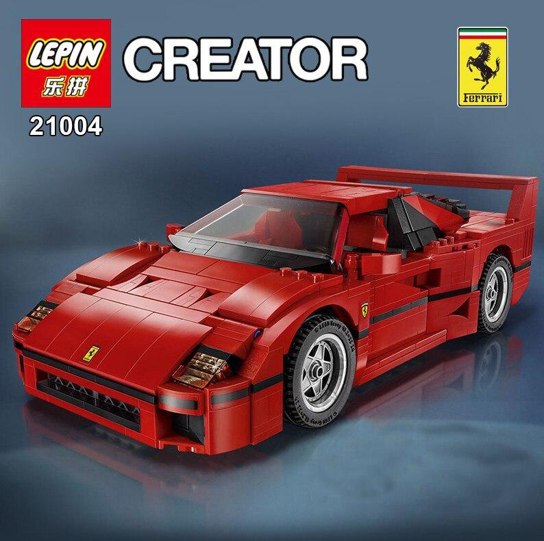 NEW LEPIN 21004 F40 Sports Car1158pcs Model Building Kits Blocks Bricks Toys Compatible with 10248<br><br>Aliexpress