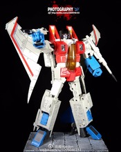 [Show.Z Store] Robot Hero Oversized Starscream Robot Hero CD01 The Transformation MPP10 Action Figure Model Robots Toys