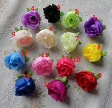 100pcs Low Price Hot New Arrival Fashion Artificial Rose Camellia Flower With Leaves Wedding Christmas Decor Freeshipping