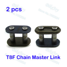 2pcs/pack T8F Chain Spare Master Link For 2 Stroke 43cc 47cc 49cc Mini ATV Quad Dirt Super Pocket Bike Motorcycle