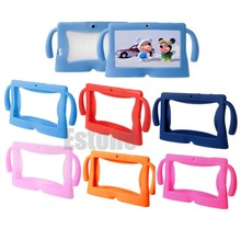 "OOTDTY Multicolor Computer Accessories Silicone Cute Soft Cover Box for 7"" Inch Android Gilrs Boys Kids Pad Tablet PC"