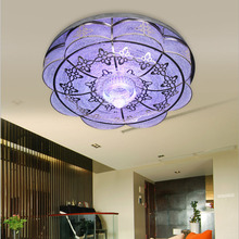 LED Crystal Ball Ceiling Light E27 110V-220V  Flower Shape Home Lighting Living Room Bedroom Children Modern Ceiling Lamp