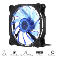 1STPLAYER CPU PC Case Computer Cooler Cooling fan LED Fluid Dynamic Bearing Single Ring 1200 RPM Speed 11 Fan Blade for Desktop(China)
