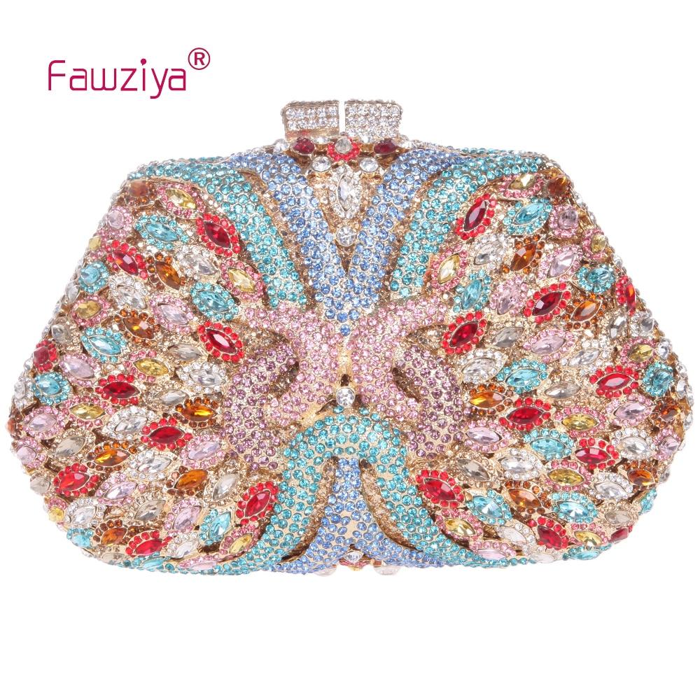 Fawziya  Rhinestone Bags Women Knorr Clutch Purses For Women Bling Rhinestone Evening Bag<br><br>Aliexpress