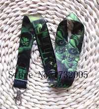 New 10 Pcs  Cartoon Superheros Hulk  Cello Phone key chain  Neck Strap Keys  Lanyards Free Shipping G-50