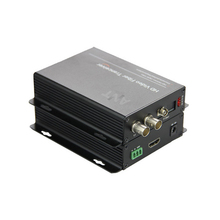 High Quality 2ch HD-SDI Video Optical Media Converters Transmitter & Recevier  -Video Audio RS485 data over fiber,S/M 20Km
