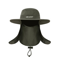 CooL ZEE  High Quality Bucket Hats Wide Brim For Men Women Fishing Camping Hunting Camouflage Hats Cap Outdoor Sun Hat Cap