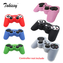 1pcs retail 6colors for choose Protective Silicone Soft Skin Case Cover for Sony Playstation 3 PS3 Controller whosale instock