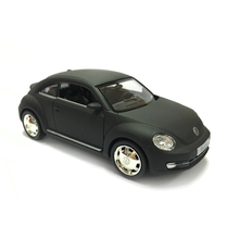 RMZ City 2012 Beetle 1:36 Toy Vehicles Alloy Pull Back Mini Car Replica Authorized By The Original Factory Model Toys collection(China)