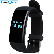 Time Owner Smart Band D21 Heart Rate Monitor Fitness Tracker Smart Bracelet Activity Tracker for iOS Android Smart Wristband