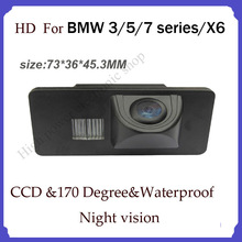 CCD HD night view car rear backup camera  Wireless car back up parking camera  for BMW 3 5 7 series X6