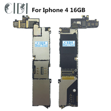 CIDI For iphone 4 16GB Motherboard mainboard full function Unlocked & Tested With Full Chips Logic Board