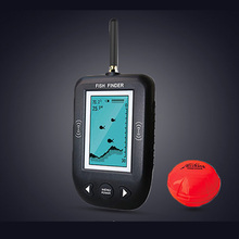 Erchang Portable Sonar LCD Wireless Fish Finder Fishing lure Echo Sounder Fishing Finder Hot Sale Alarm For Fishing(China)