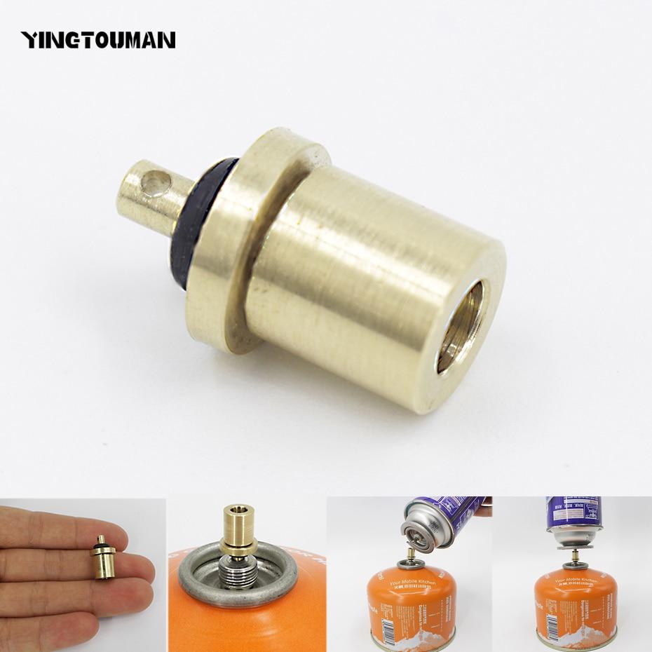 Acoplador De Cilindro Conector De Tanque De Butano Adaptador De Recarga De Gas