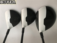 Brand New 3PCS Boyea M1 Wood Set Golf Woods Golf Clubs Driver + Fairways Regular/Stiff-Flex Graphite Shaft With Head Cover