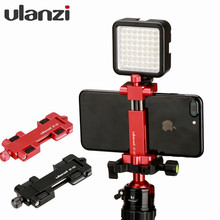 Ulanzi Multi-function Aluminium Tripod Mount Stand Adapter hot shoe mount for iPhone 7 7plus Andriod Mobile Phone Holder Stand(China)