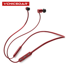 Buy Vchicsoar 2018 New Sports Bluetooth Headphones IPX6 Waterproof Wireless Headset Stereo Bluetooth 4.1 Earphones Earbuds Mic for $16.94 in AliExpress store