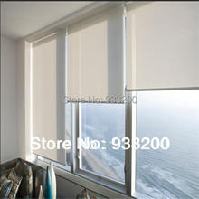 Motorized and manual window sunscreen roller blinds(CUSTOMIZED)size in different colors