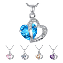 Necklace Zircon Gift Fashion Women Crystal High Quality 1 Pcs Heart(China)