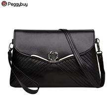 Buy Simple Women PU Handbags Black Elegant Lady Party Clutch Large Purse Evening Party Square Crossbody Bag Messenger Shoulder Bags for $6.12 in AliExpress store