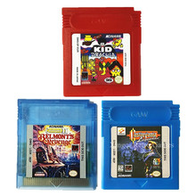 Nintendo GBC Game Castlevania Series Video Game Cartridge Console Card for Game Boy Color English Language